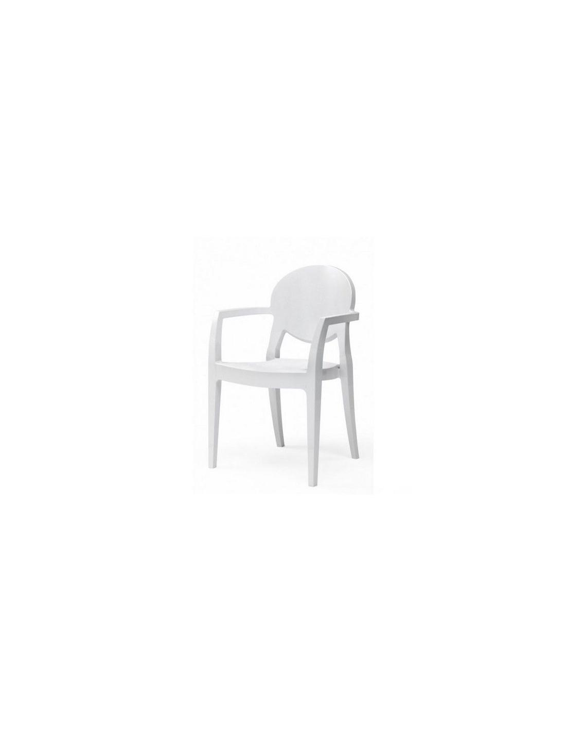 Sedie moderne modello igloo 2355 con braccioli di scab for Design sedie moderne