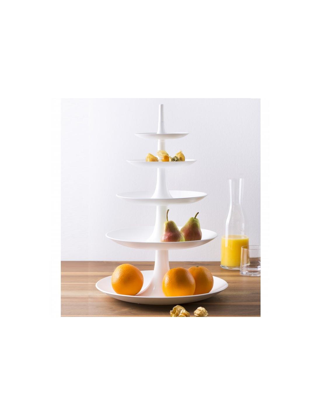Portafrutta/ Alzatina modello BABELL 5 ripiani di KOZIOL