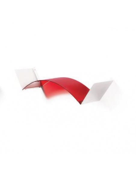 Mensola flessibile modello FLEXA WHITE CL 861 di Emporium