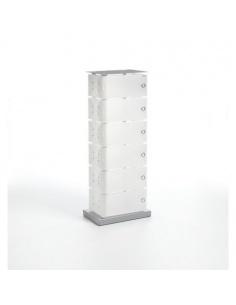 Scarpiera modello FLUIDA CL 742 6 cassetti small di Emporium Slim Salvaspazio