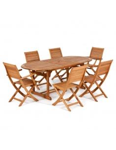 Tavolo da Pranzo Allungabile California 150/200 x 90cm