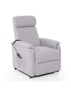 Poltrona recliner relax in tessuto modello CLIO