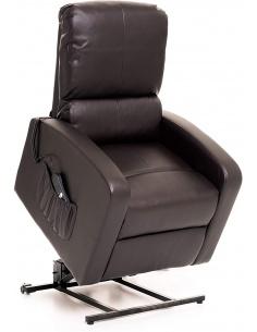 Poltrona recliner relax in similpelle modello Camilla Lift
