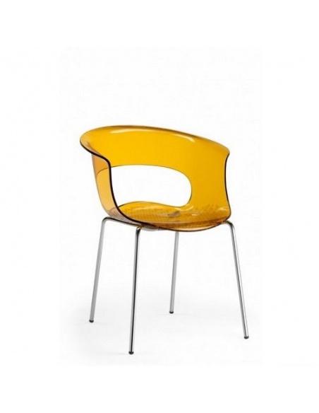 Sedie modello MISS B ANTISHOCK 2690 4 gambe di Scab Design