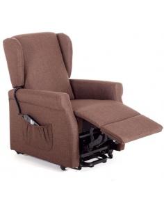 Poltrona recliner relax in tessuto modello Vittoria