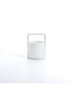Portariviste modello NICHEL WHITE CL 857 bianco di Emporium