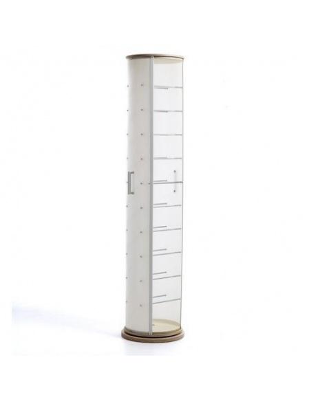 Scarpiera girevole modello POP WOOD CL 830 legno naturale di Emporium