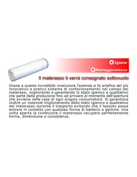 Materasso 80x190 h.18cm Water Foam Poliflex