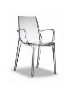 Vanity sedia in policarbonato di Scab Design-Offerta valida fino al 31-08-2019