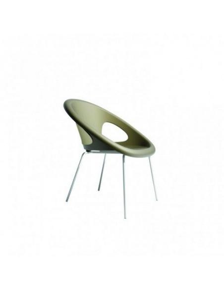 Sedia DROP 2682V 4 gambe verniciato - Scab Design