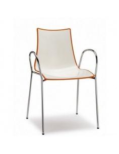 Sedie ZEBRA BICOLORE 2610 braccioli - Scab Design - mnimo 2 pezzi