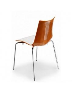 Sedie ZEBRA BICOLORE 2272 4 gambe - Scab Design - minimo 2 pezzi