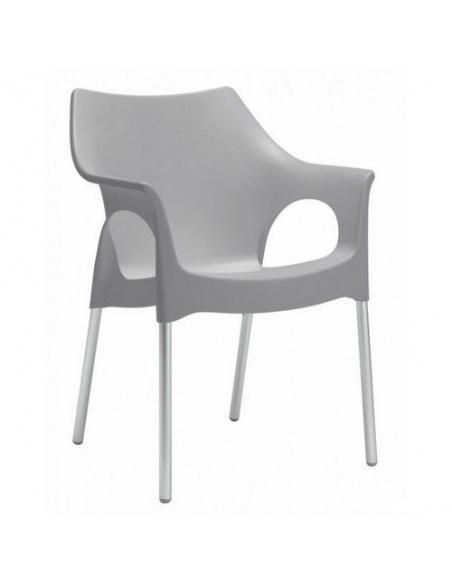 Sedia di Scab Design OLA poltroncina in Tecnopolimero impilabile per esterno/interno