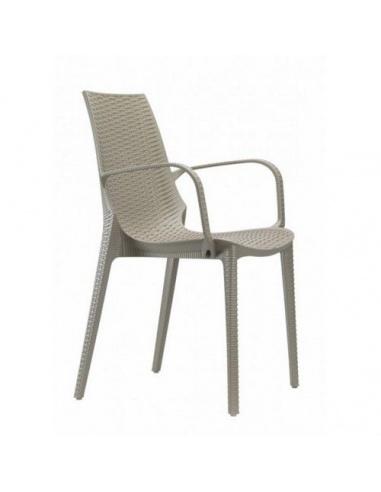 Sedia LUCREZIA con braccioli  2322 - Scab Design