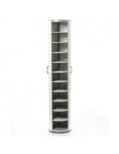 Scarpiera FLUIDA 10 cassetti base in legno Emporium- Salvaspazio Slim
