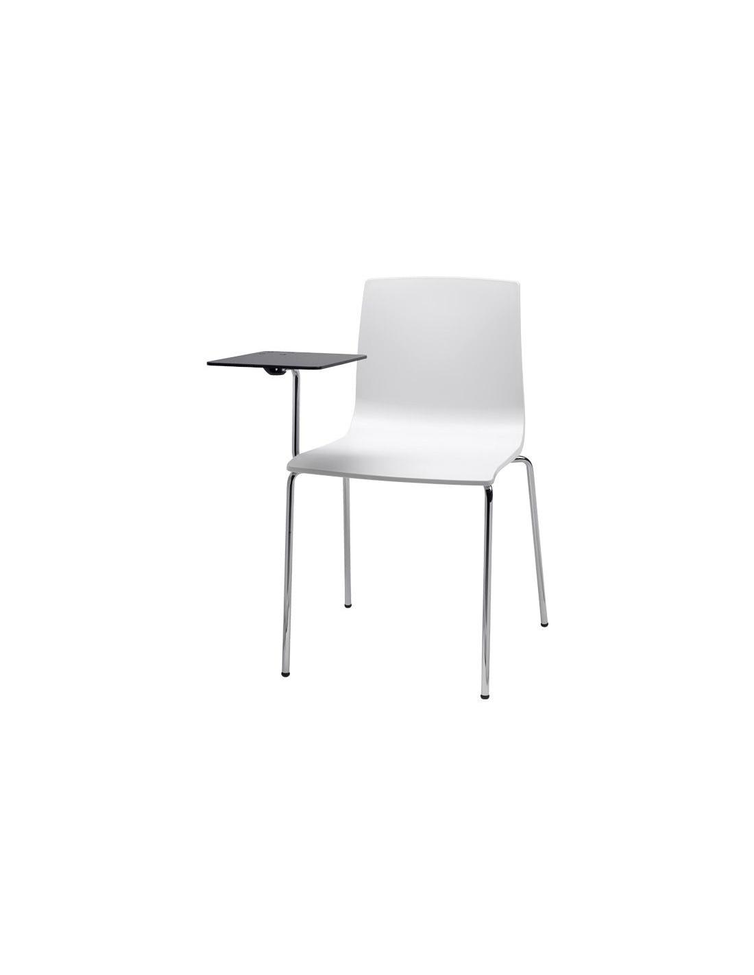 sedie alice chair con tavoletta scrittoio antipanico 2678