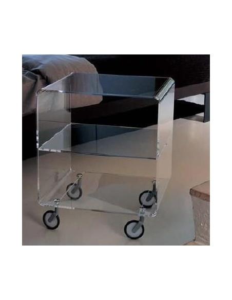 Tavolino su ruote modello ANDY 3 CL 984 di Emporium
