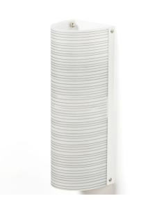Applique a 2 luci modello RIGATONE CL893 di Emporium