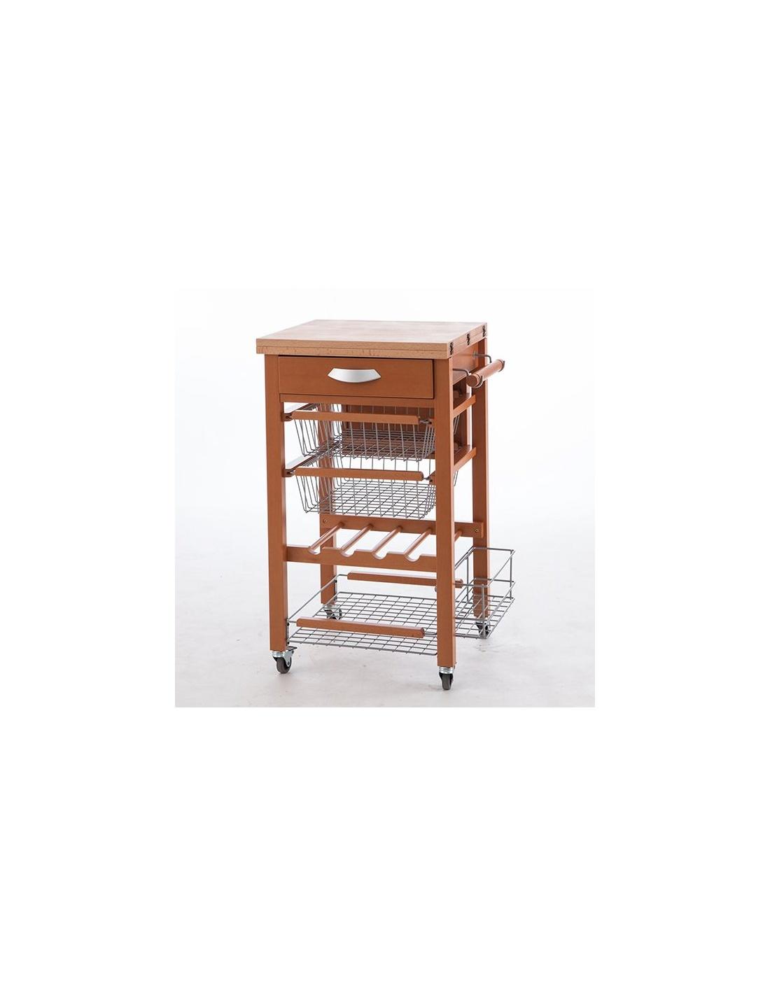 Carrello da cucina in legno modello GASTONE 585 di Arredamenti Italia