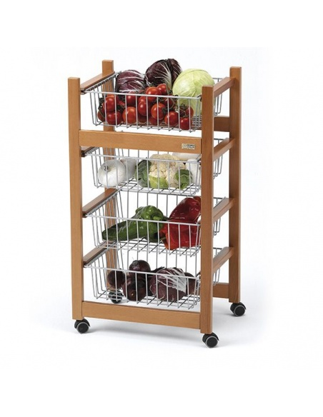 Carrello porta frutta/verdura modello GINGER 500 di Arredamenti Italia