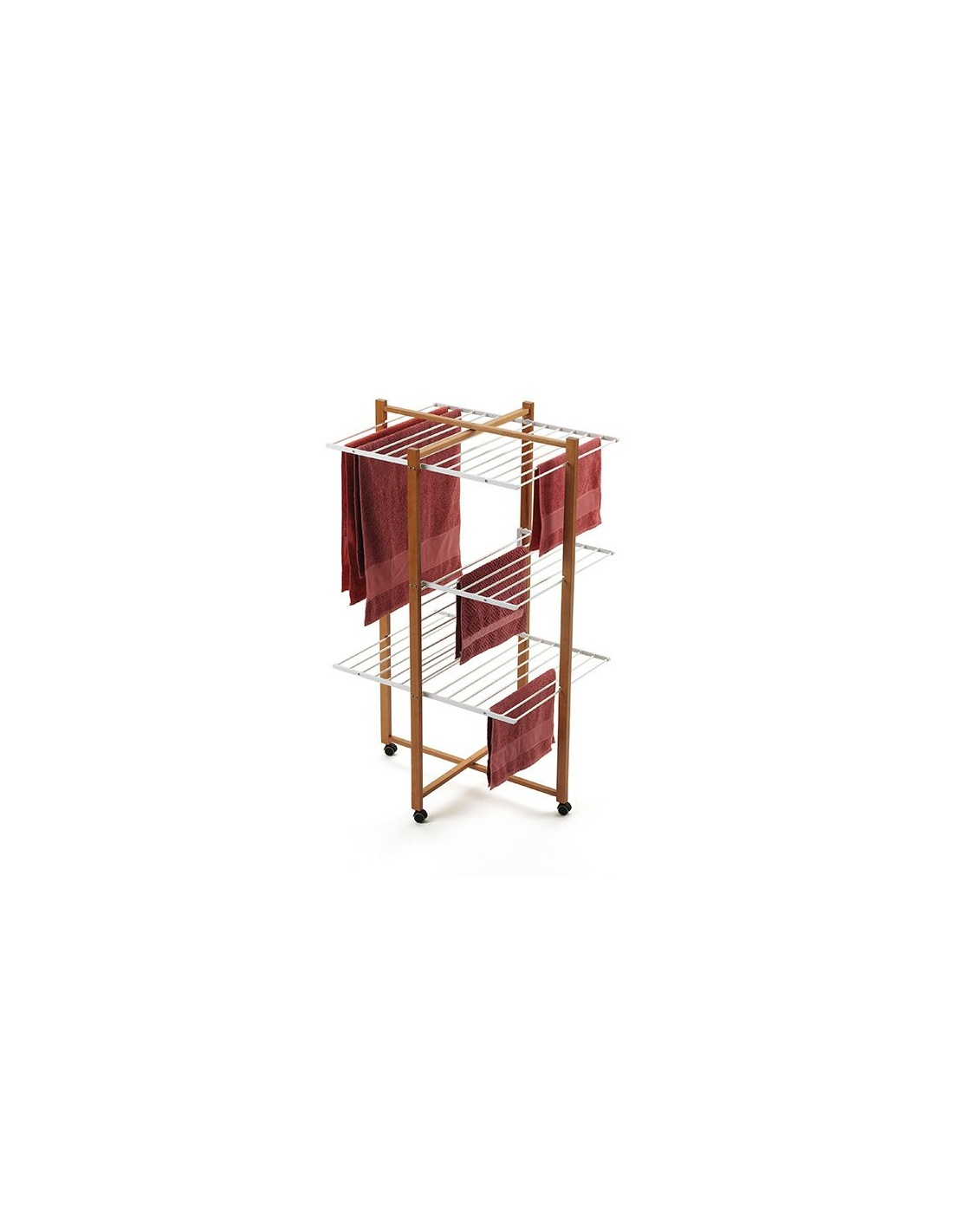 Stendibiancheria in legno a torre karisma 695 for Karisma arredamenti parrucchieri