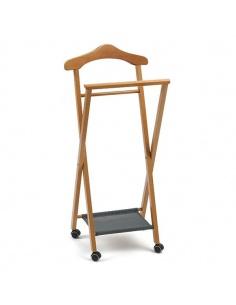 Indossatore in legno da camera chiudibile modello NELSON di Arredamenti Italia - Made in Italy