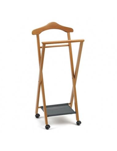 Indossatore in legno da camera mod nelson 119 di for Arredamenti italia