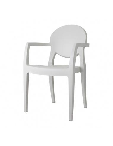Sedie Con Braccioli Design.Sedie Moderne Igloo Tecnopolimero Con Braccioli Scab Design Minimo 4 Pezzi