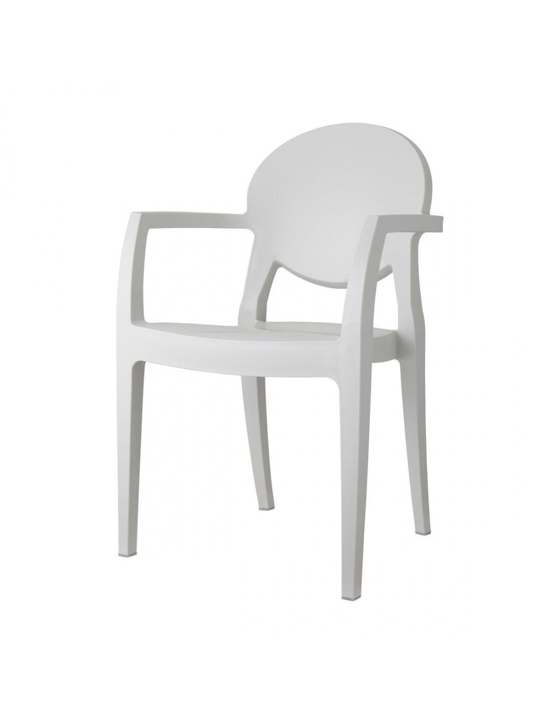 Igloo tecnopolimero sedia scab design for Sedie design con braccioli