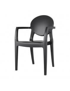 Sedie moderne IGLOO TECNOPOLIMERO con braccioli - Scab Design
