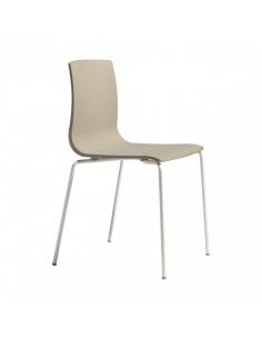 Sedie ALICE CHAIR con telaio verniciato 2675 V - Scab Design