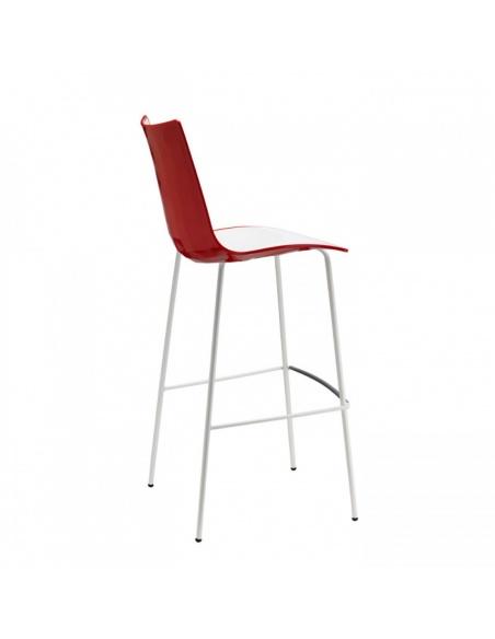 Sgabello ZEBRA BICOLORE 2560 VB - Scab Design