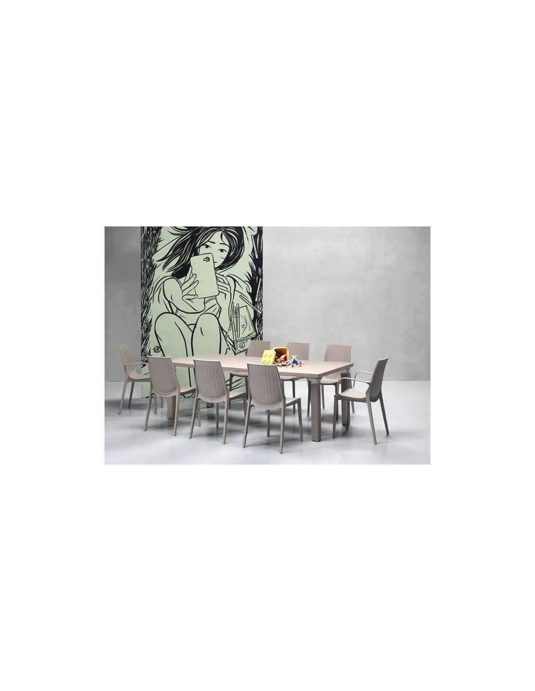 Tavolo allungabile da giardino per esterno triplo 1889 for Arredo esterni design