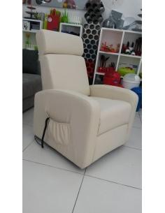 Poltrona relax elettrica reclinabile alzapersona modello KATIA