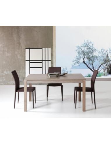 Tavolo in legno rettangolare allungabile art. 1143