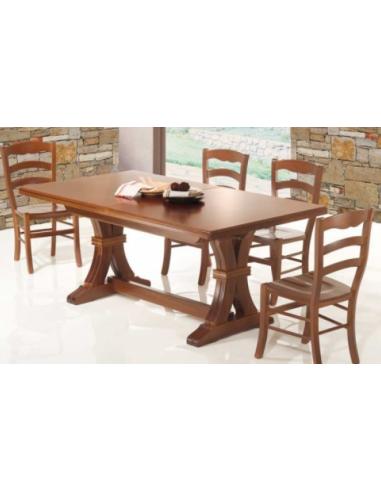 Tavolo in legno allungabile 180x100 cm - art. 1146