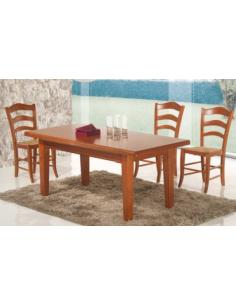 Tavolo in legno allungabile rettangolare art.