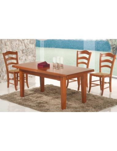 Tavolo in legno allungabile rettangolare