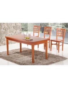 Tavolo in legno rettangolare bas. multistrato art.