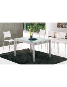 Tavolo in metallo raddoppiabile art. 2207 120x90 cm