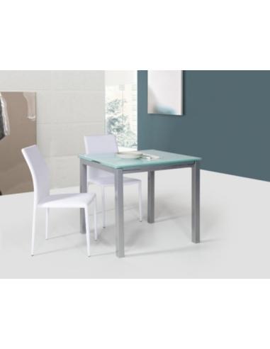 Tavolo in metallo quadrato art 2209 80x80 cm - Tavolo quadrato 80x80 allungabile ...