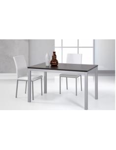 Tavolo in metallo raddoppiabile art. 2215 130x80 cm