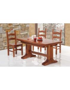 Tavolo in legno toulipier allungabile rettangolare