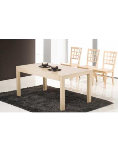 Tavolo in legno di rovere allungabile rettangolare art 2231 for Tavolo allungabile legno rovere