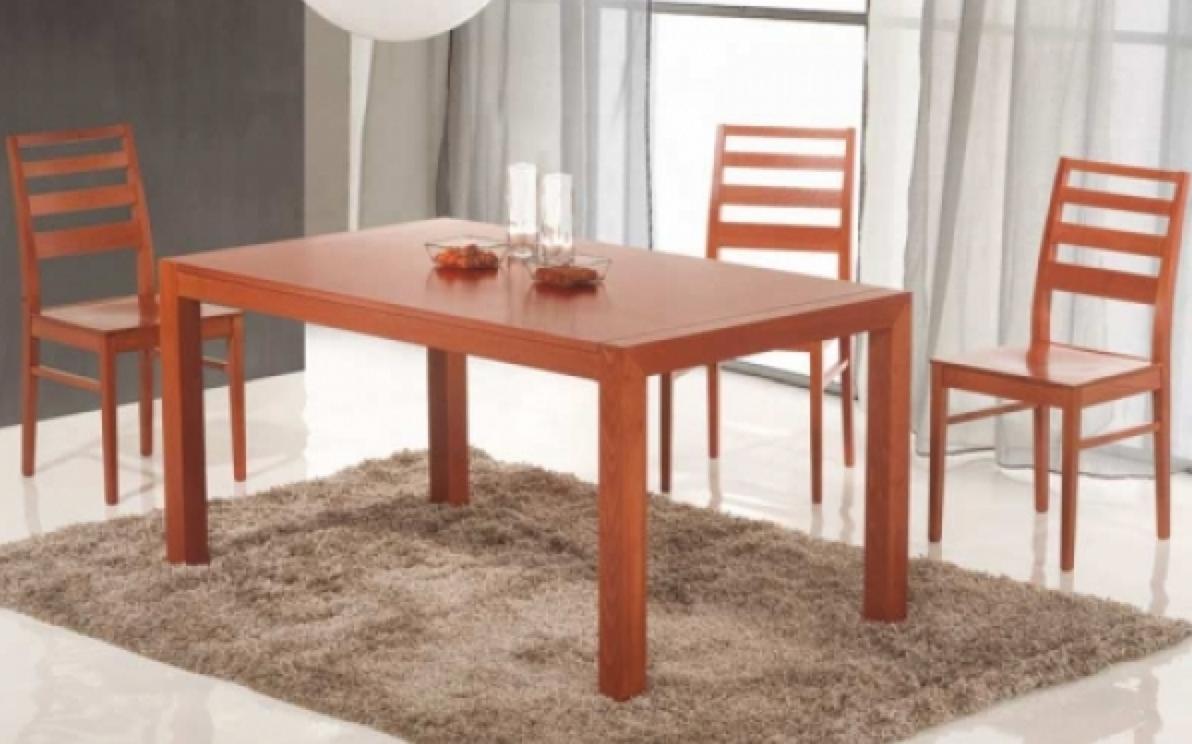 Tavolo in legno di faggio allungabile rettangolare art. 2233