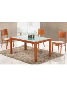 Tavolo in legno di faggio allungabile rettangolare art. 2234