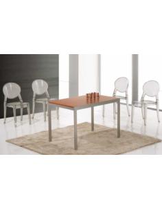 Tavolo in metallo allungabile art.  2247 110x70 cm