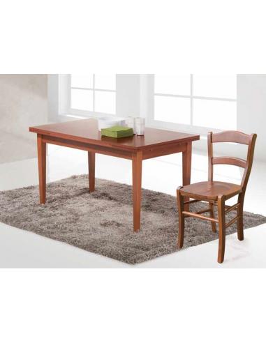 Tavolo in castagno allungabile rettangolare art. 2285