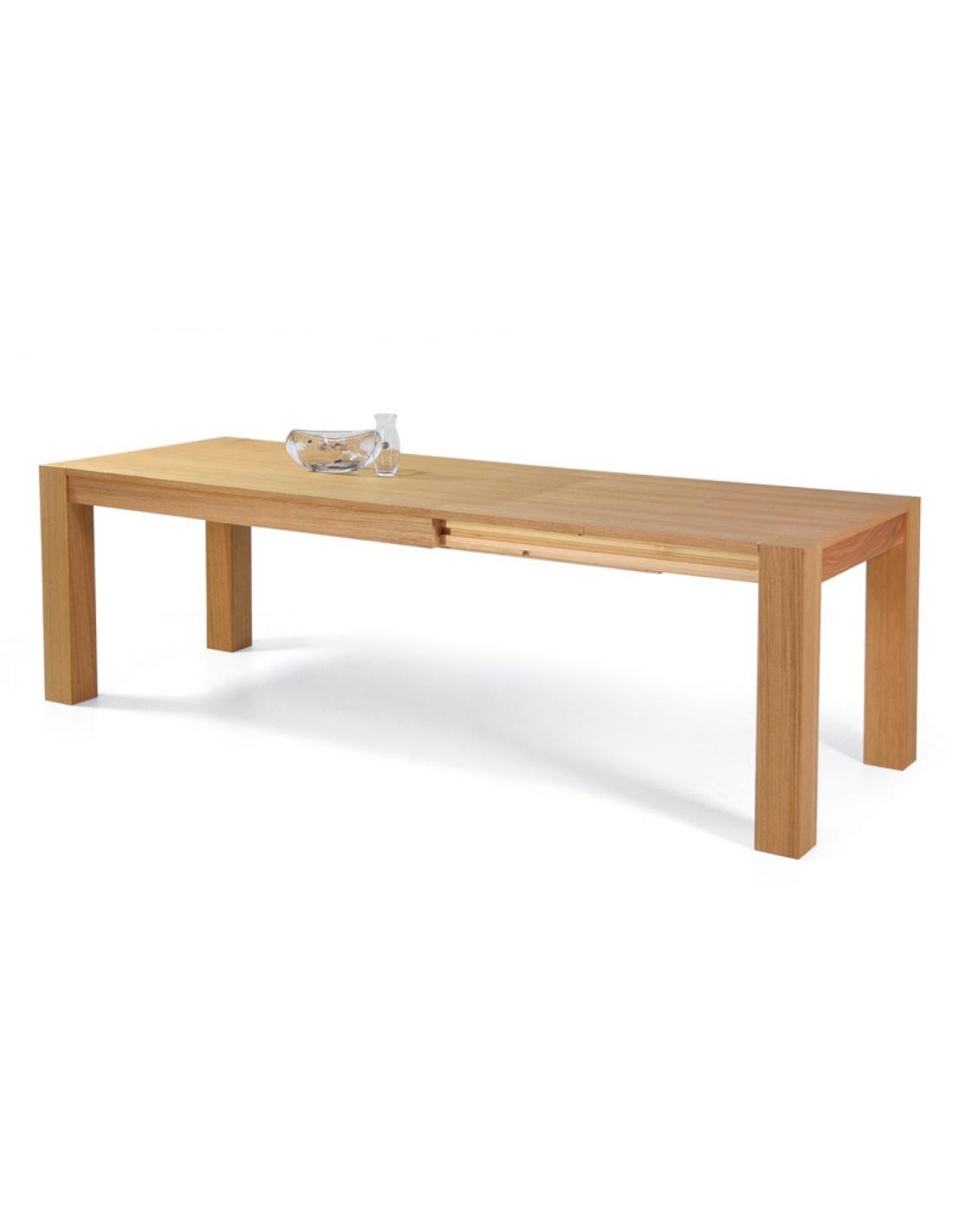 Tavolo in rovere allungabile rettangolare art 2291 - Tavolo rettangolare allungabile ...