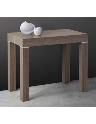 Tavolo consolle in legno ed allungabile art 2296 - Tavolo consolle allungabile legno ...